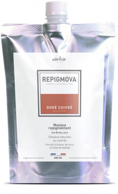 REPIGMOVA - Doré Cuivré (reflets dorés) - 200ml