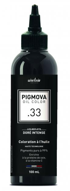 PIGMOVA OIL - .33 Doré Intense - 100ml
