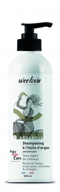 ARGANOVA Shampooing à l'huile d'argan - 500 ml