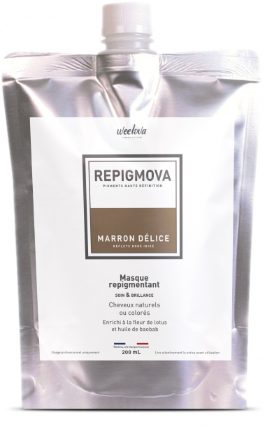 REPIGMOVA - Marron Délice  (reflet doré Irisé) - 200ml